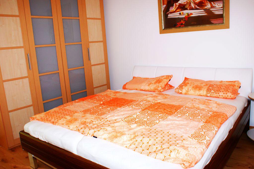 Ferienwohnung Göggingen Schlafzimmer