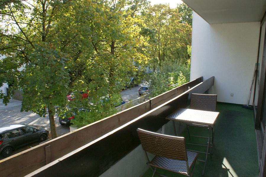 Ferienwohnung Hochzoll Nord Balkon