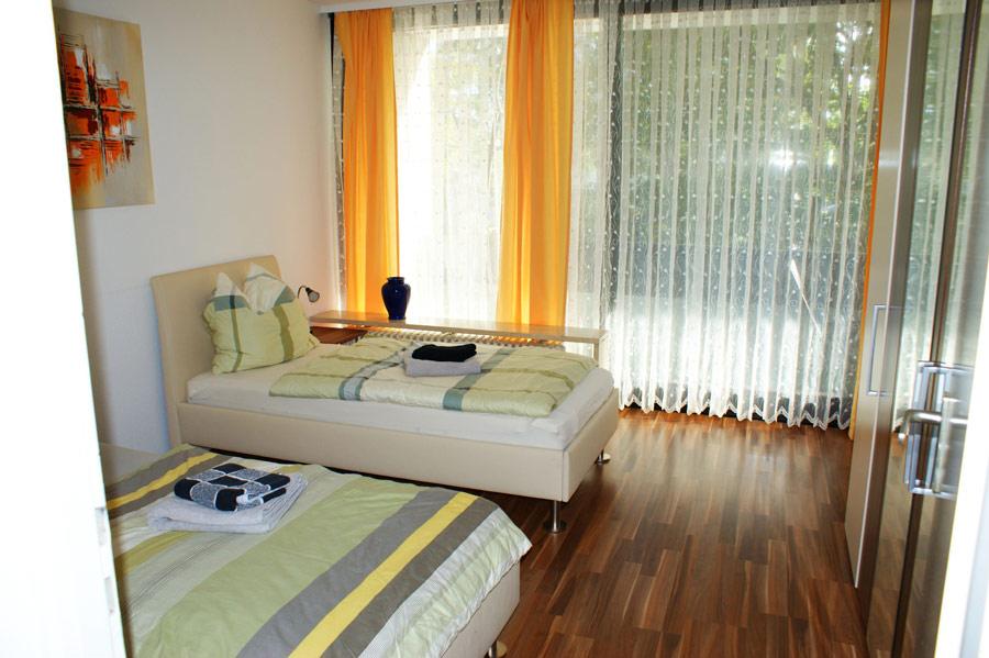 Ferienwohnung Hochzoll Nord Schlafzimmer
