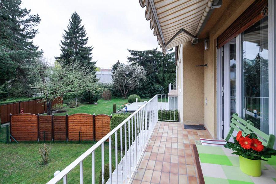 Ferienwohnung Hochzoll Süd Balkon