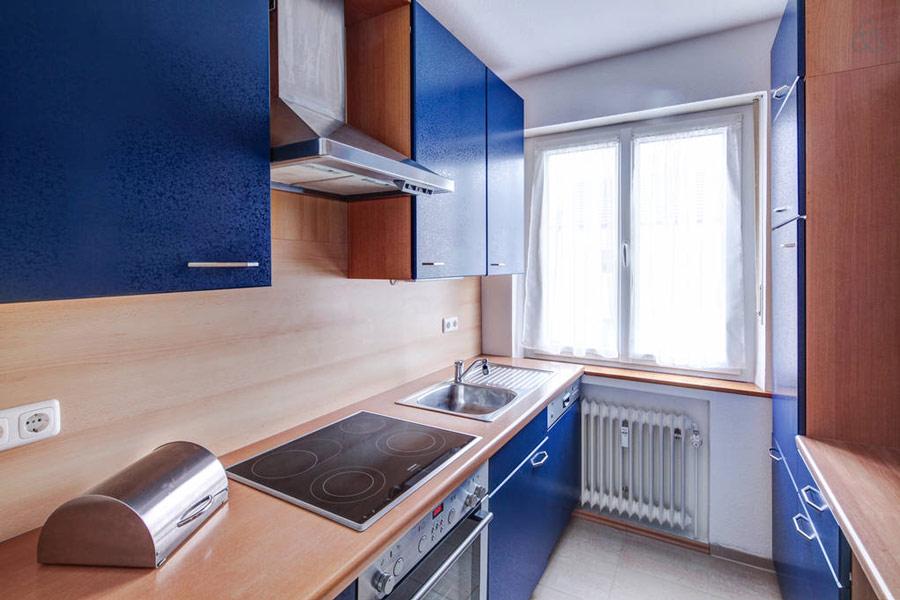 Ferienwohnung Hochzoll Süd Küche
